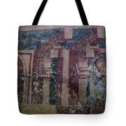 Saxon Medieval Frescoes, Transylvania Tote Bag
