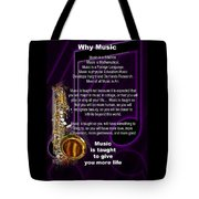 Saxophone Photographs Or Pictures For T-shirts Why Music 4819.02 Tote Bag