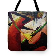 Saxophonist  Tote Bag