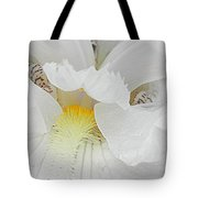 Say Ahhh Iris Series 11 Tote Bag