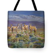 Say Cheese Antelope Tote Bag