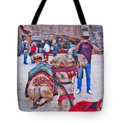 Say Cheese. Mysterious Peter. Tote Bag