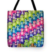 Say Hello To My Little Friends Tote Bag