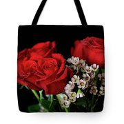 Say It With Flowers Tote Bag by Tracy Hall