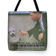 Say Please Quote Tote Bag