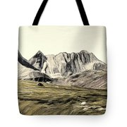Sayan Landscape Tote Bag