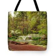 Sayen Gardens Bridge Series Tote Bag
