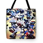 Saying It Again - Quietly  Tote Bag