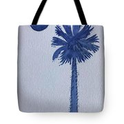 Sc Palmetto And Crescent Tote Bag