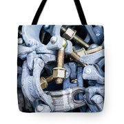 Scaffold Clamps Tote Bag