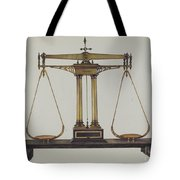 Scales For Weighing Gold Tote Bag