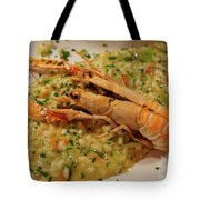Scampi Risotto Tote Bag