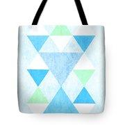 Scandi Blue Tote Bag