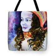 Scandinavian Girl Tote Bag