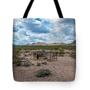 Scanty Remains Tote Bag