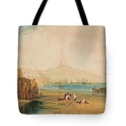 Scarborough Town And Castle Tote Bag