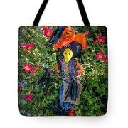 Scare Bird Tote Bag