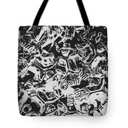 Scarecrows From All Hallows Way Tote Bag