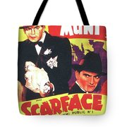 Scarface 1932 French Revival Unknown Date Tote Bag