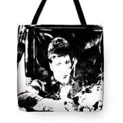 Scarface Reflects Tote Bag