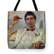 Scarface Tote Bag by Ylli Haruni