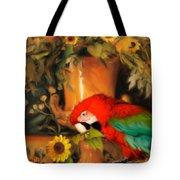 Scarlet Badboy Tote Bag