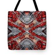 Scarlet Entanglement Tote Bag