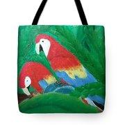 Scarlet Macaws  Tote Bag