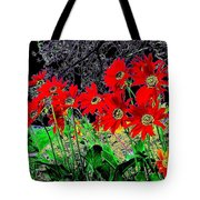 Scarlet Night Tote Bag