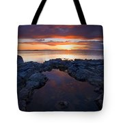 Scarlet Pools Tote Bag