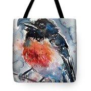 Scarlet Robin Tote Bag