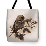 Scarlet Tanager - Tint Tote Bag