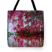 Scarlet Water Tote Bag
