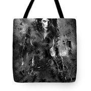Scarlett Johansson Black Widow Tote Bag