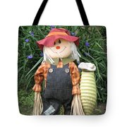 Scarry Crow Tote Bag