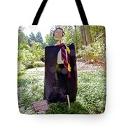Scarry Potter Scarecrow At Cheekwood Botanical Gardens Tote Bag