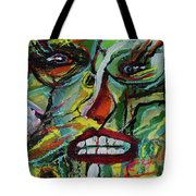 Scars Of Survival Tote Bag