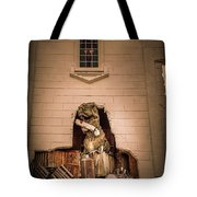Scary Dinosaurs At Top Secret In Wisconsin Dells. Tote Bag