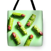 Scary Halloween Sweets Tote Bag