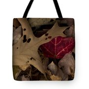 Scary Leaves Tote Bag