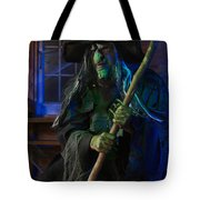 Scary Old Witch Tote Bag