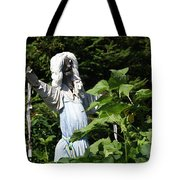 Scary Scarecrow Tote Bag