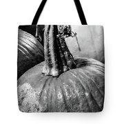 Scary Stem Pumpkin Tote Bag