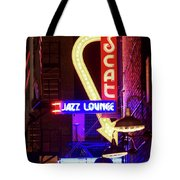 Scatt Jazz Lounge 030318 Tote Bag