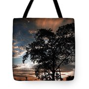 Scattered Clouds Tote Bag
