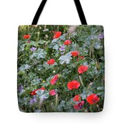 Scattered Everywhere Tote Bag