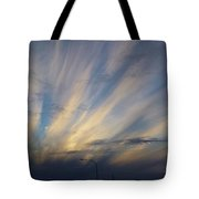 Scattered Sky Tote Bag