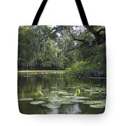 Scattered Sun On Blind River Tote Bag