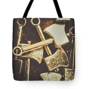 Scattering Axes Tote Bag