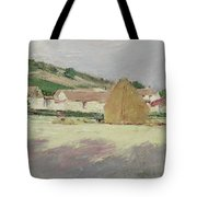 Scene At Giverny, 1890 Tote Bag